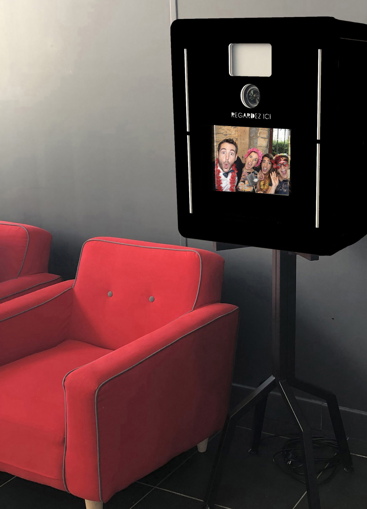 Stéphane Amelinck | Location borne photobooth
